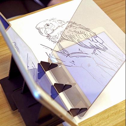Projektor pro obkreslování
