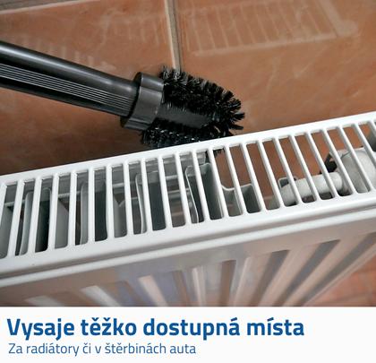 Kartáč na čištění radiátorů