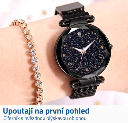 Dámské hodinky s magnetickým páskem