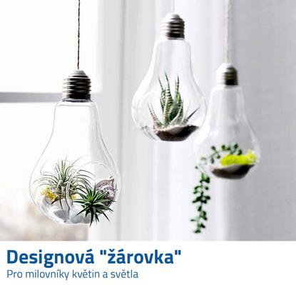 Závěsná dekorace ve tvaru žárovky