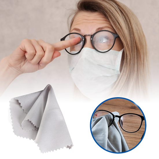 Hadřík na čištění brýlí