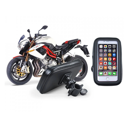 Držák na řídítka na mobil na motorku