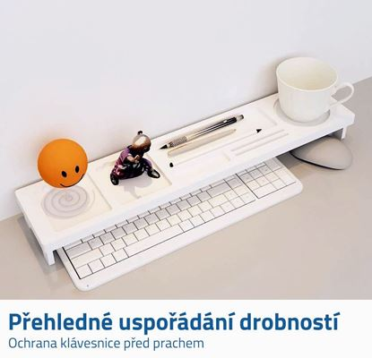 Polička ke klávesnici