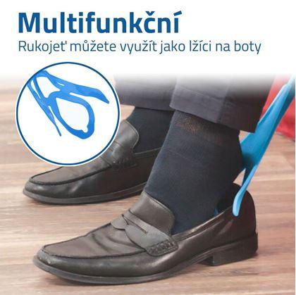 Pomůcka na oblékání ponožek