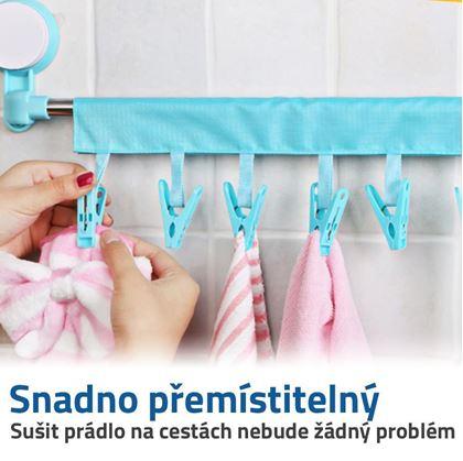 cestovní sušák na prádlo