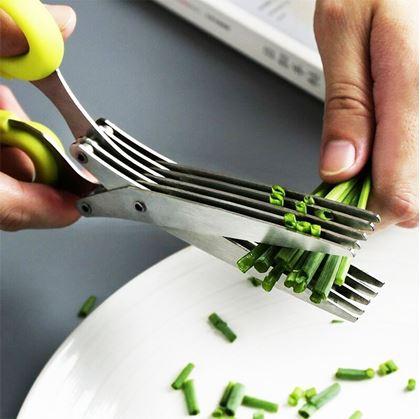 kovové nůžky na bylinky