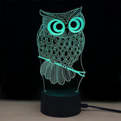 3d lampa