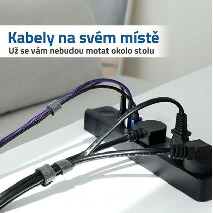Kabel svázaný páskou