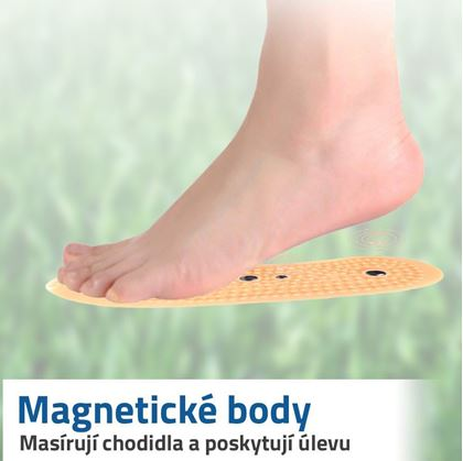 masážní vložky do bot