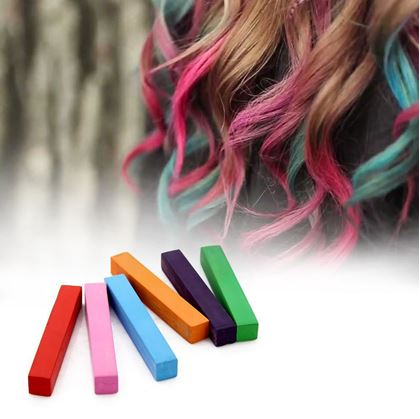 křídy na vlasy