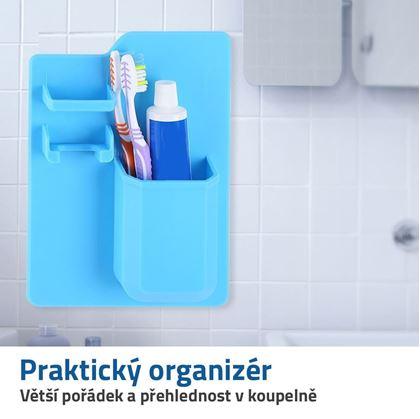 koupelnový organizér