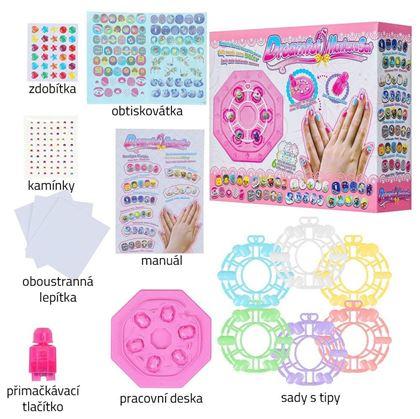 Dětské nalepovací nehty