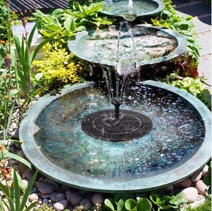 plovoucí solární fontána
