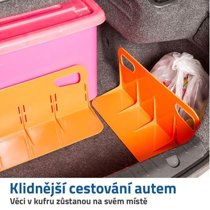 organizér do kufru auta