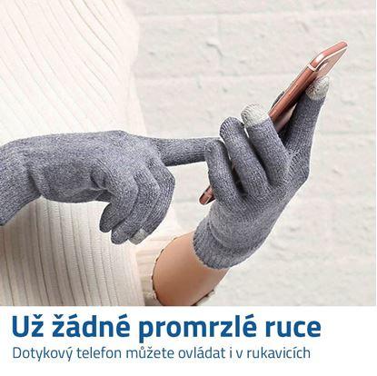 Dotykové rukavice