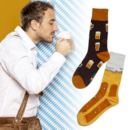 Veselé ponožky pivo