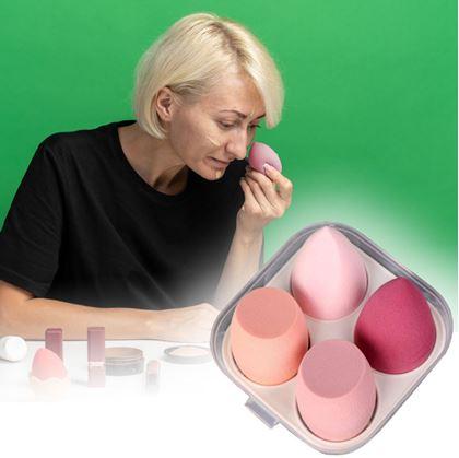 Make-up houbička