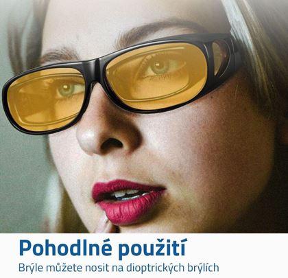 HD vision brýle