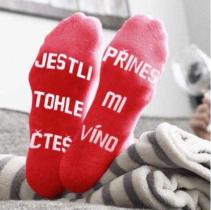 ponožky přines mi víno