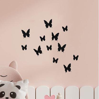 3d motýlci
