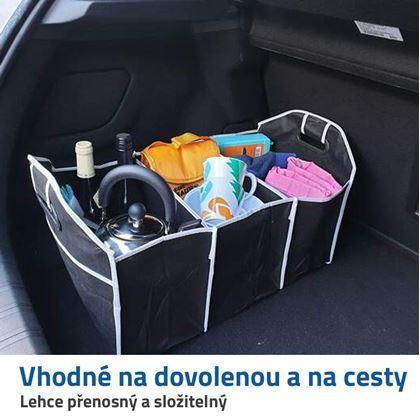 cestovní organizér do kufru