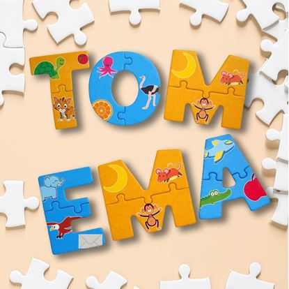 Puzzle písmena