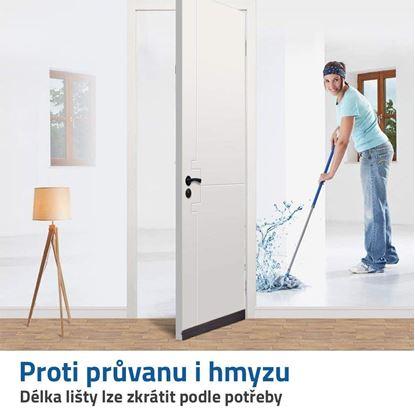 lišta na dveře